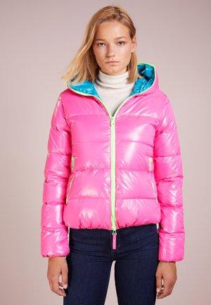THIA - Down jacket - rosa fluo