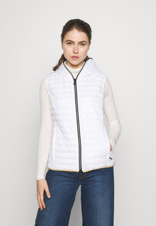 FILIRASEI - Waistcoat - bianco ottico