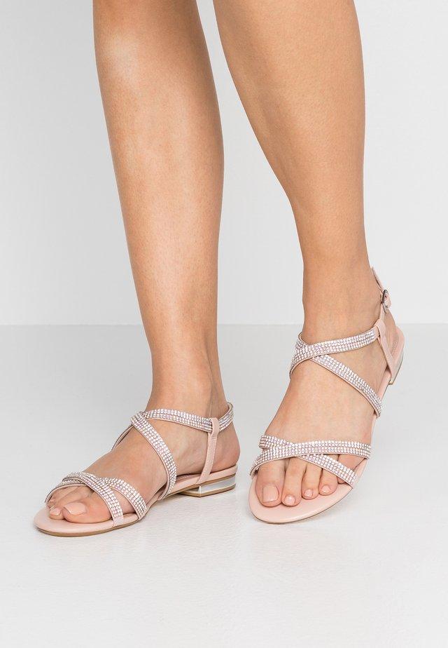 WIDE FIT NEEVIE - Sandals - blush