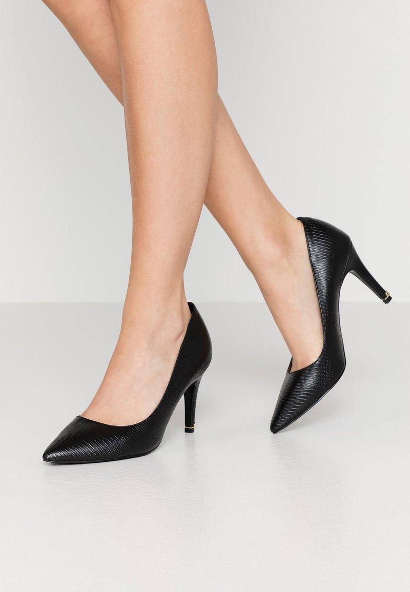 Dune London WIDE FIT - WIDE FIT ANNA - Zapatos altos - black