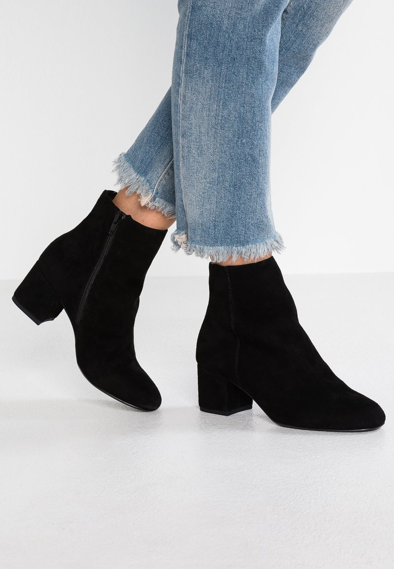 Dune London WIDE FIT - WIDE FIT OLYVEA - Classic ankle boots - black