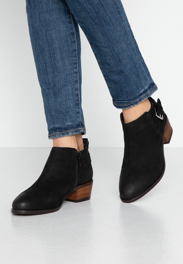 WIDE FIT PIERA - Ankle boot - black