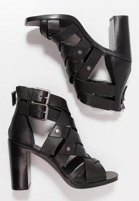 Dolce Vita - NOREE - High heeled sandals - black - 3