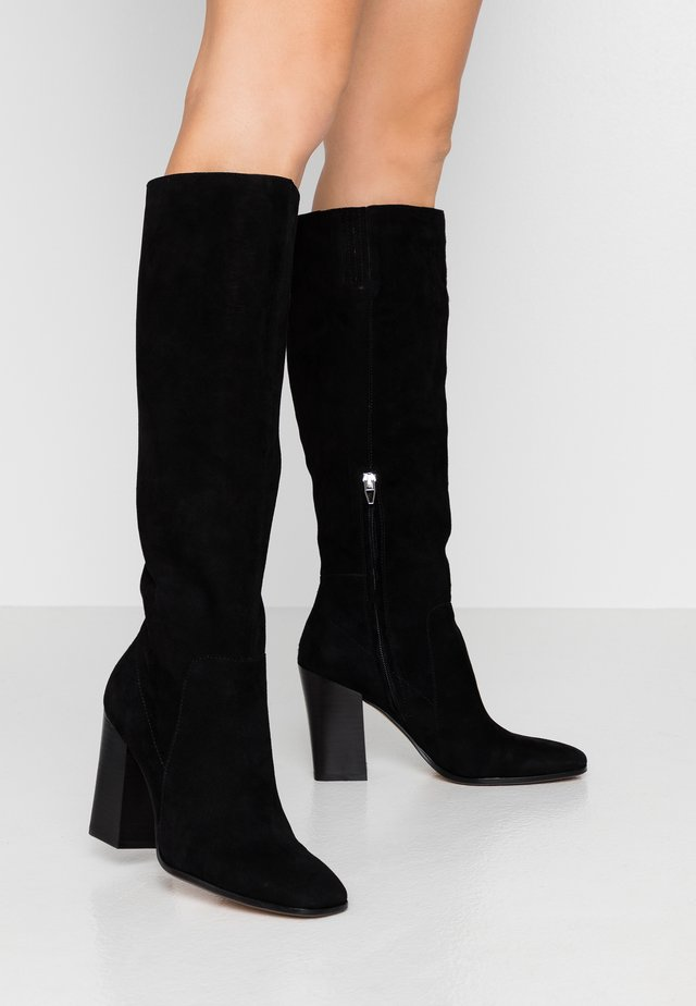 KASIDY  - Laarzen met hoge hak - black