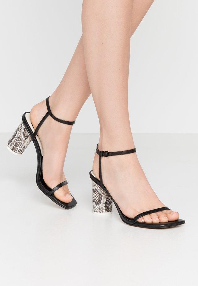 NAOMEY - Sandals - black