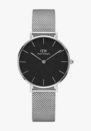 CLASSIC PETITE STERLING  - Reloj - silver-coloured/black