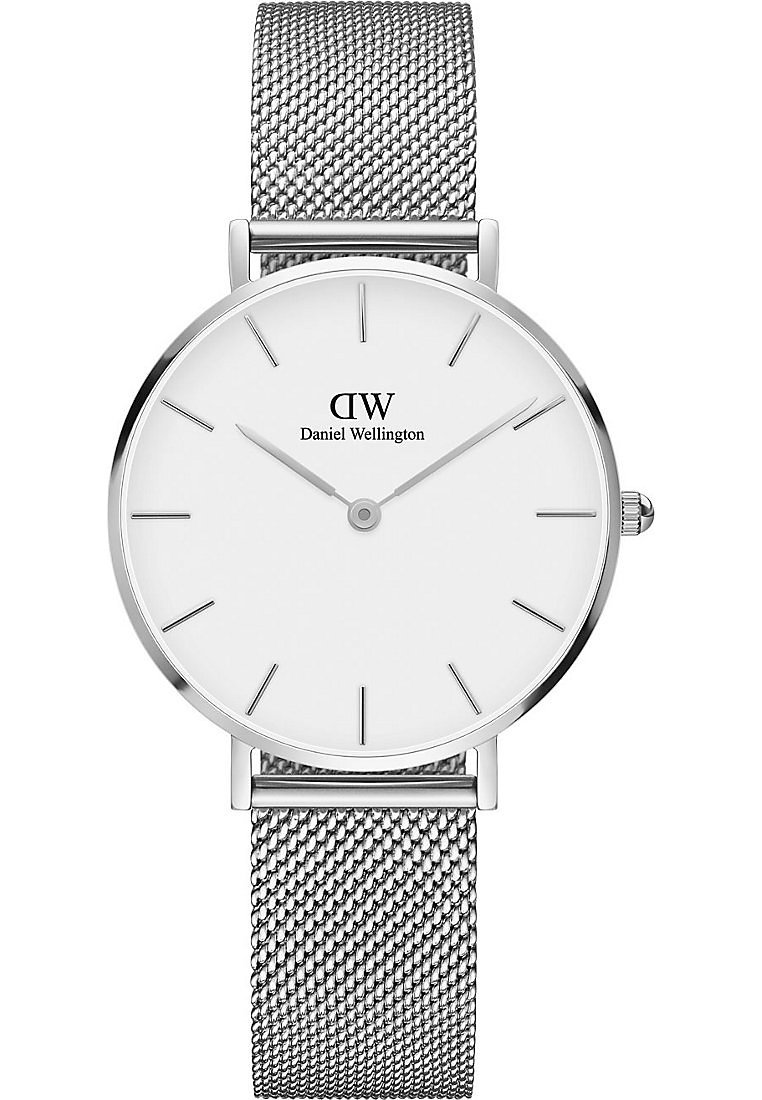 Daniel Wellington - PETITE STERLING 32MM - Orologio - silver