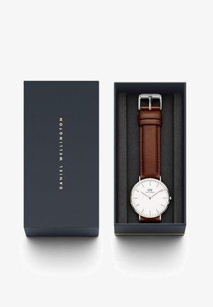 CLASSIC ST MAWES 36MM - Watch - silberfarben/braun