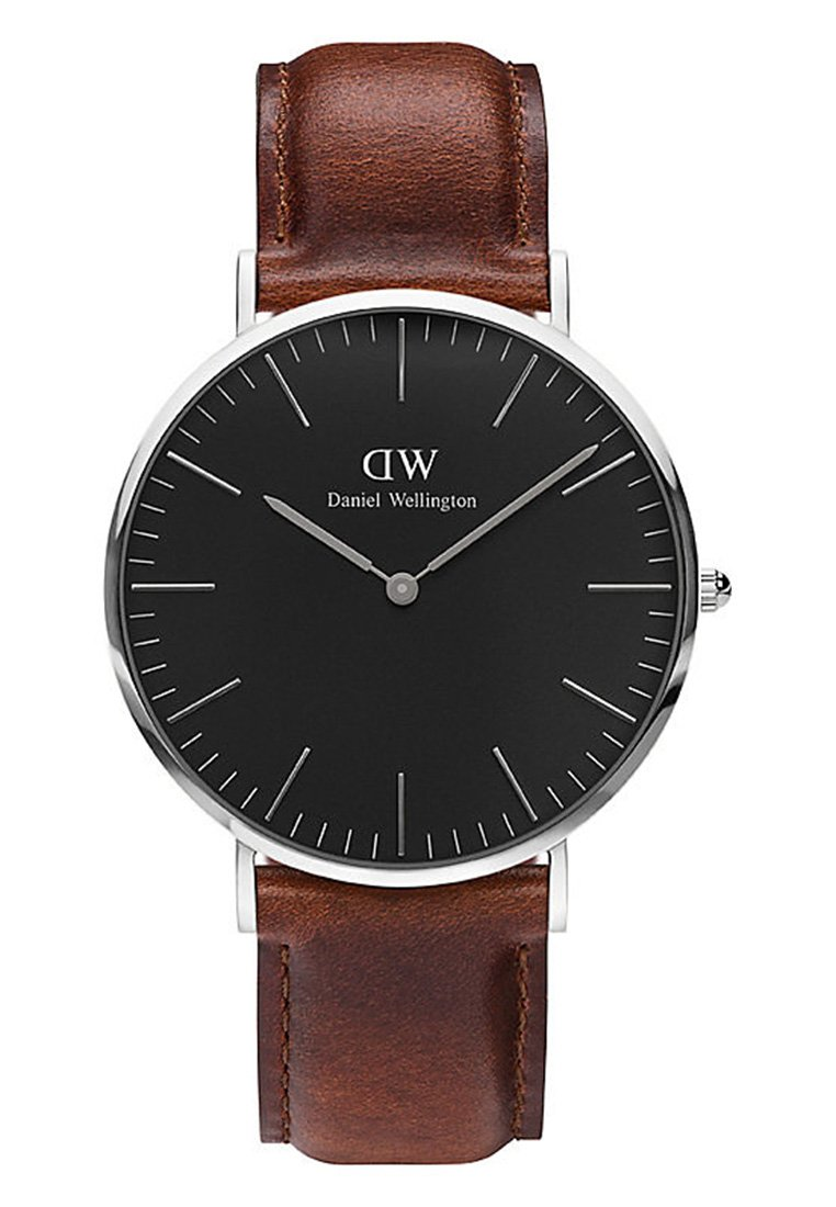 Daniel Wellington - Classic St Mawes 40mm - Watch - brown/black