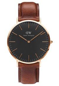 Daniel Wellington - Classic St Mawes 40mm - Watch - braun/schwarz - 0