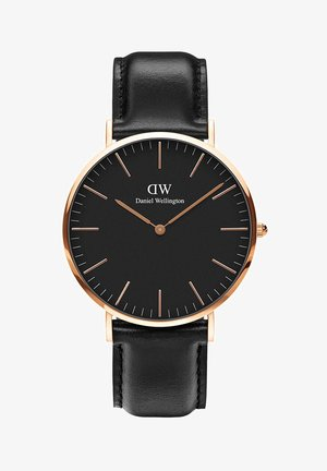 CLASSIC BLACK  - Watch - gold