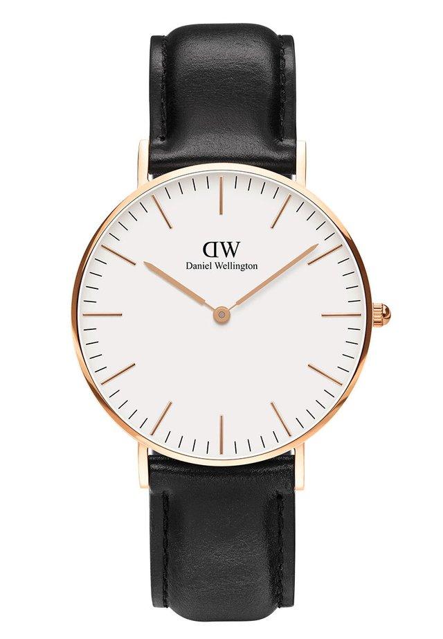 CLASSIC SHEFFIELD 36M - Watch - rosegold/schwarz