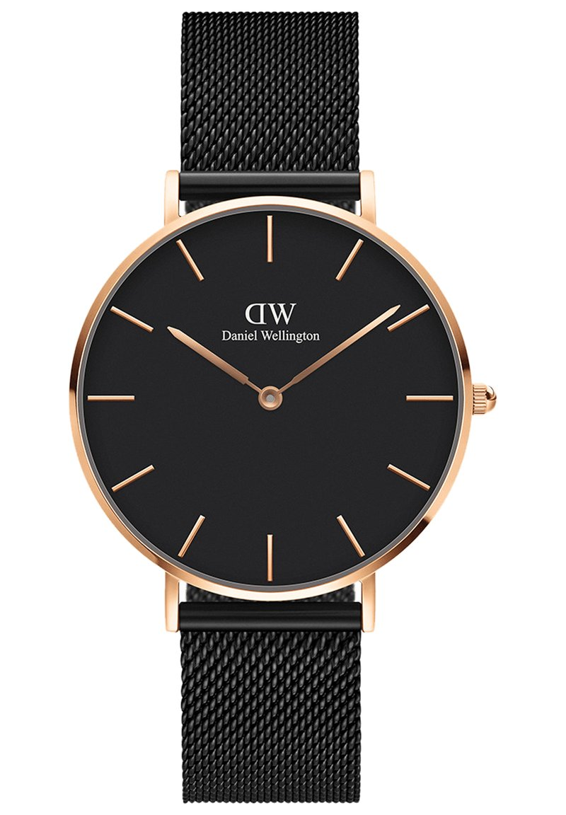 Daniel Wellington - PETITE ASHFIELD 36MM - Zegarek - rose gold-coloured