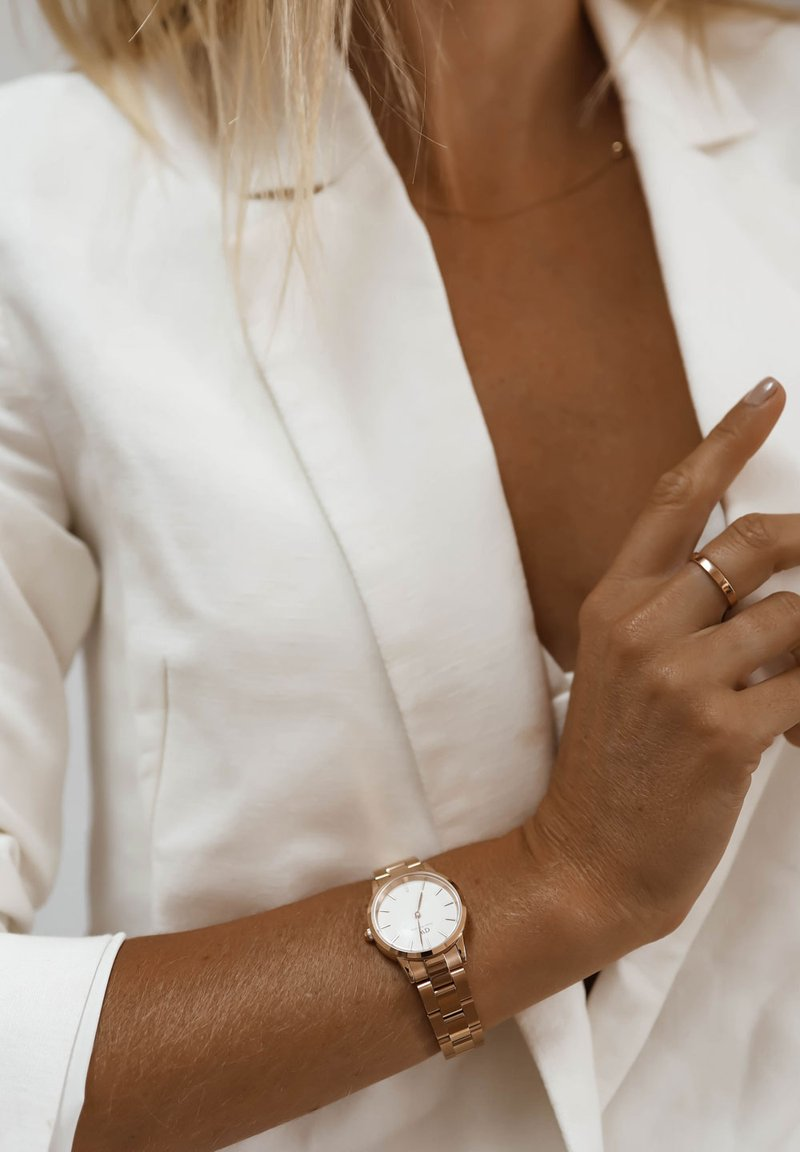 Daniel Wellington - ICONIC LINK 28mm - Watch - rose gold