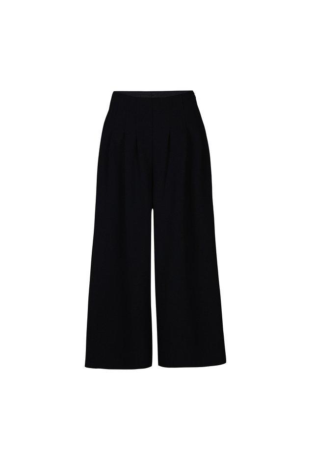 FRANCES - Trousers - black