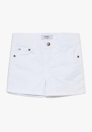 SVANA - Jeans Shorts - white