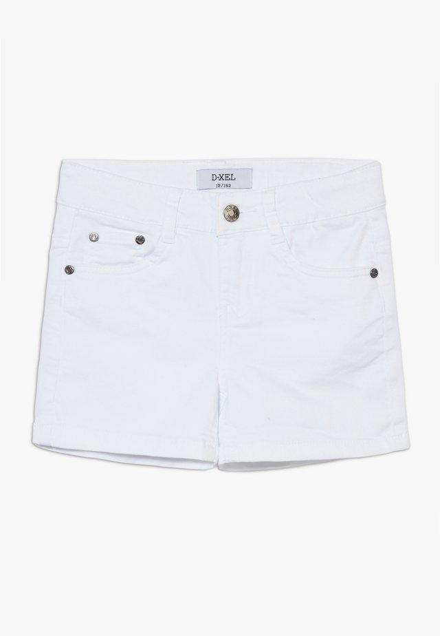 SVANA - Denim shorts - white