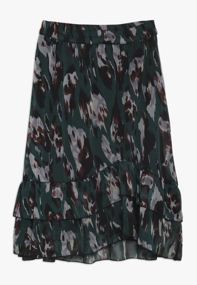 ZOOM - A-line skirt - bug green