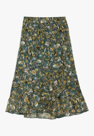 ANNELIE - A-line skirt - green