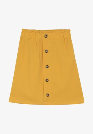 GULLI - A-line skirt - yellow