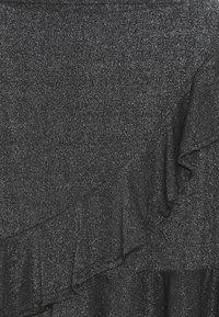 D-XEL - GODA  - Jupe trapèze - silver/black - 3