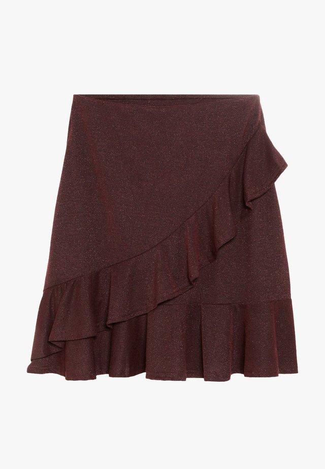 GODA  - Áčková sukně - port royale