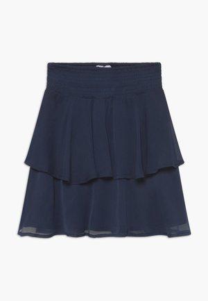 SESELINA - Áčková sukně - navy