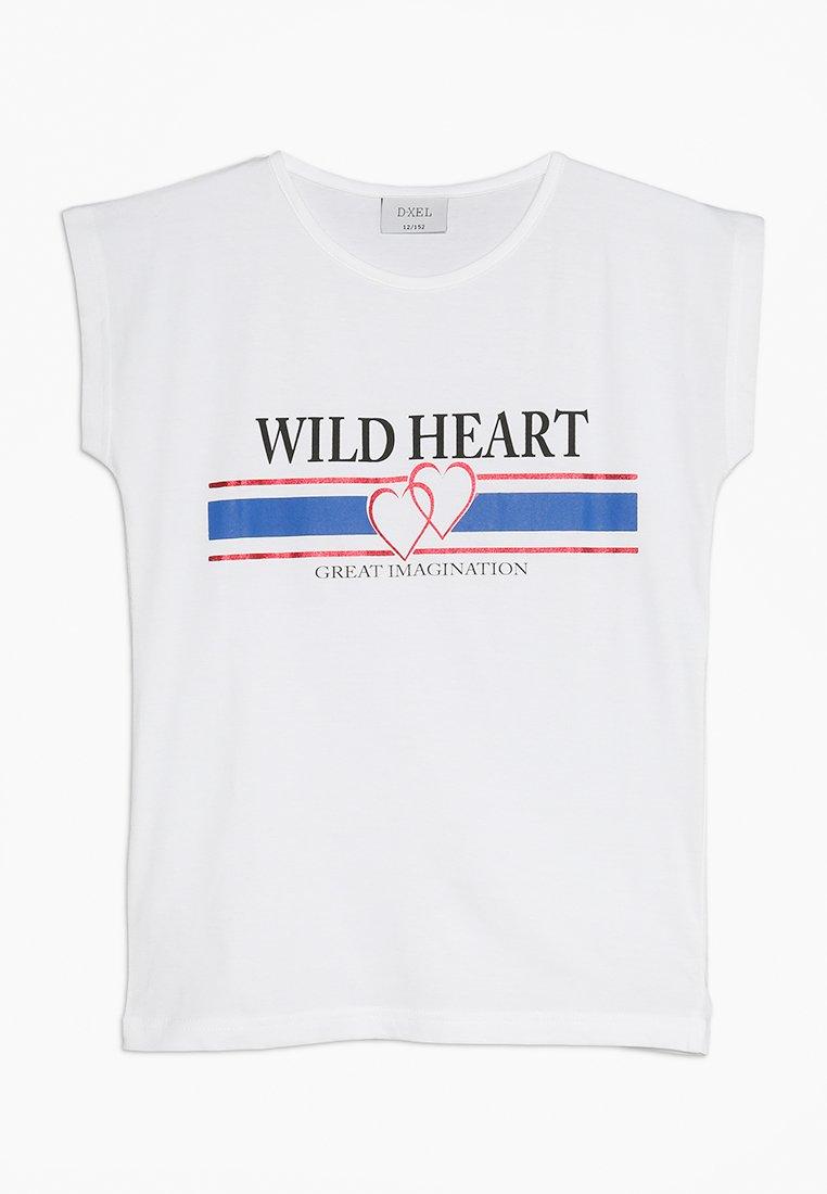 D-XEL - BELLUCCI  - T-shirt imprimé - white