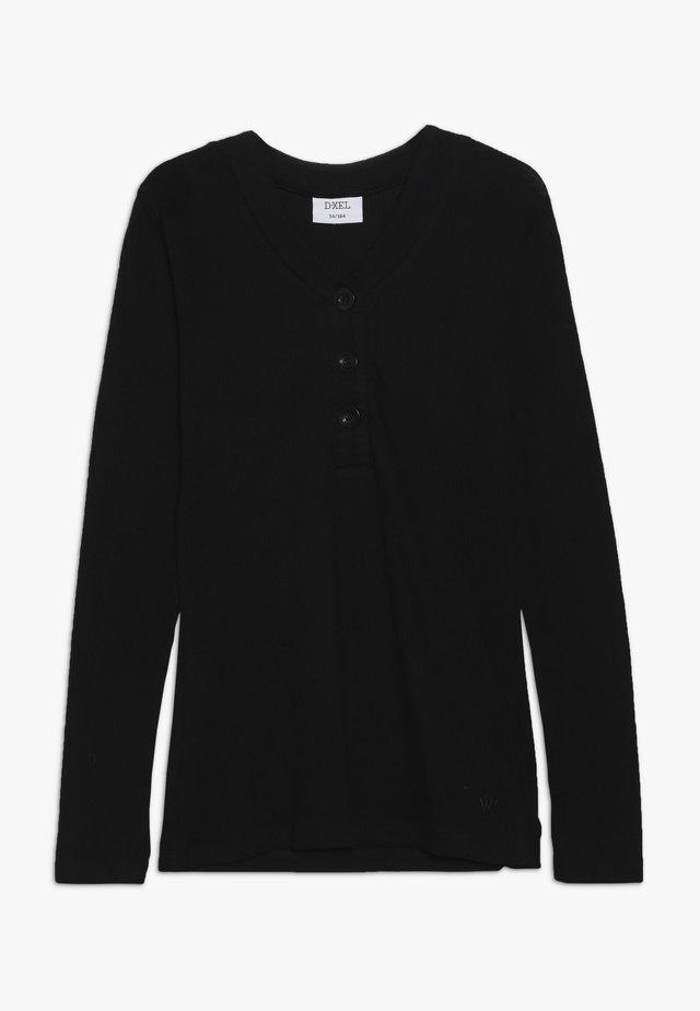 FENG - Maglietta a manica lunga - black