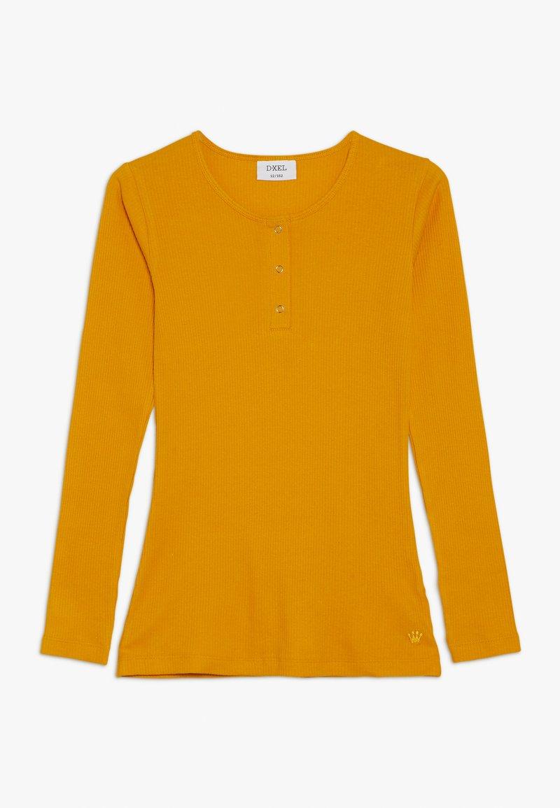 D-XEL - POVLINE - Langærmede T-shirts - yellow