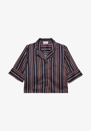 ISMA - Button-down blouse - darkblue