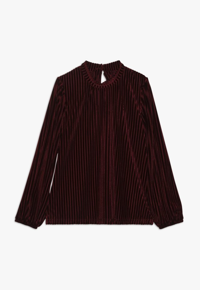 CEMILLE - Long sleeved top - port royale