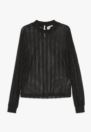 MANNY - Long sleeved top - black