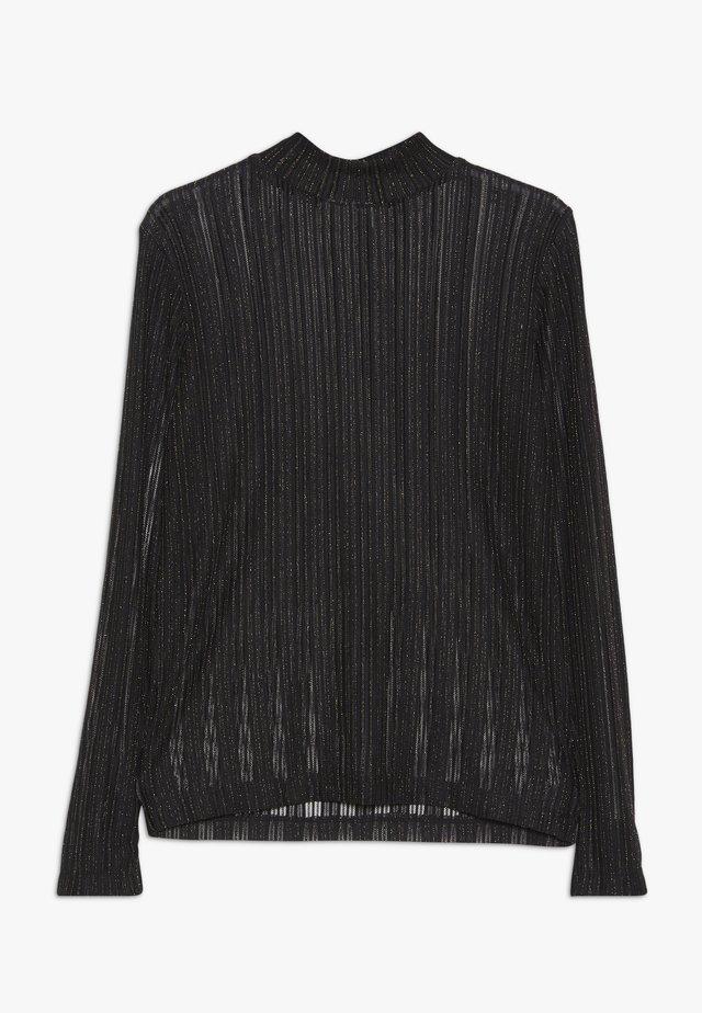 JUDI - Bluzka z długim rękawem - black