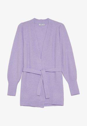 LAJKA - Strikjakke /Cardigans - lilac breeze