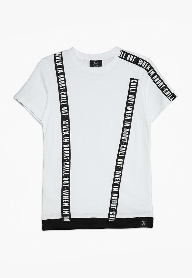 D-XEL - COSMO  - Camiseta estampada - white