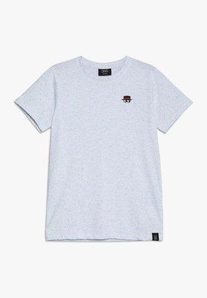 ASHBY - T-shirt z nadrukiem - ultramarina