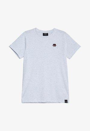 ASHBY - T-shirt med print - ultramarina