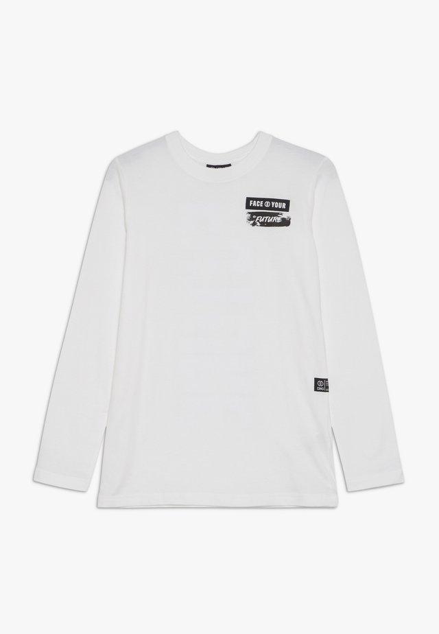 GRAHAM - Maglietta a manica lunga - white