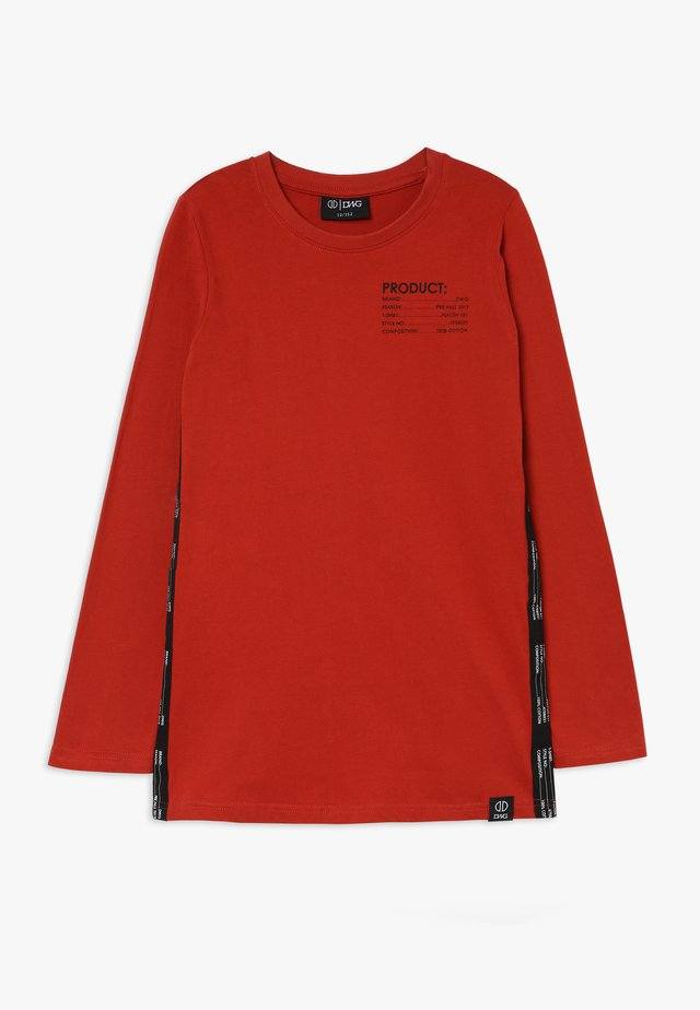 FULTON LONGSLEEVE - Maglietta a manica lunga - red