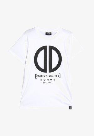 DAMEON  - T-shirt imprimé - white