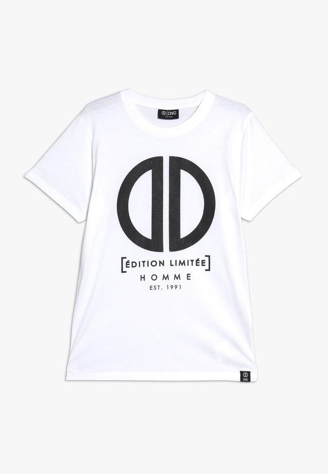 DAMEON  - Print T-shirt - white