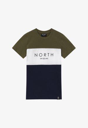 BENITO  - T-shirt print - navy