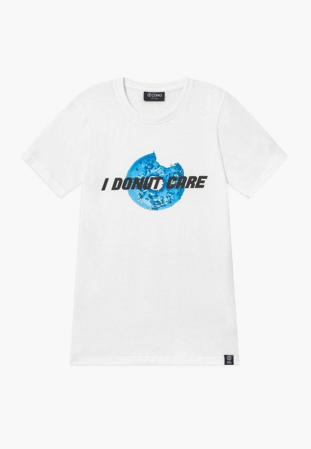 FELIPE - Print T-shirt - white