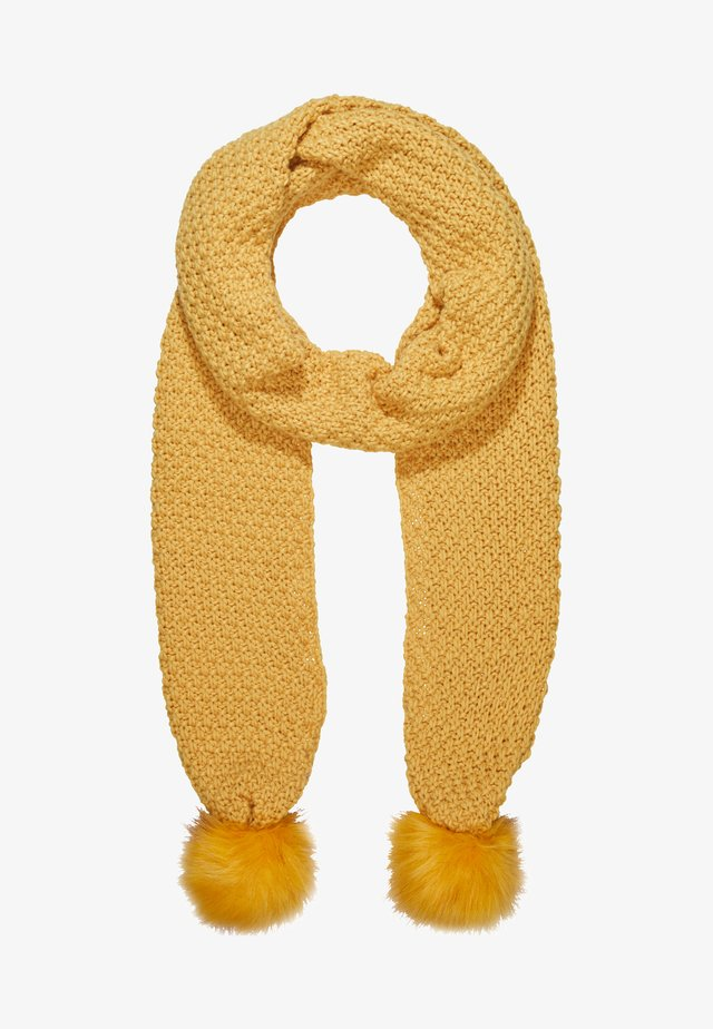 YIKE SCARF - Schal - yellow