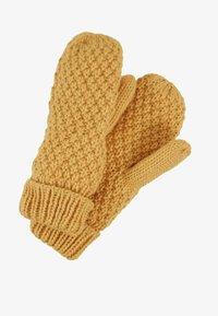 D-XEL - YIKE GLOVES - Rękawiczki z jednym palcem - yellow - 0