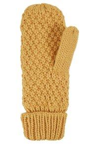D-XEL - YIKE GLOVES - Rękawiczki z jednym palcem - yellow - 2