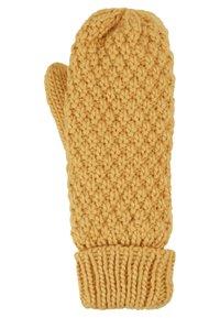 D-XEL - YIKE GLOVES - Rękawiczki z jednym palcem - yellow - 1