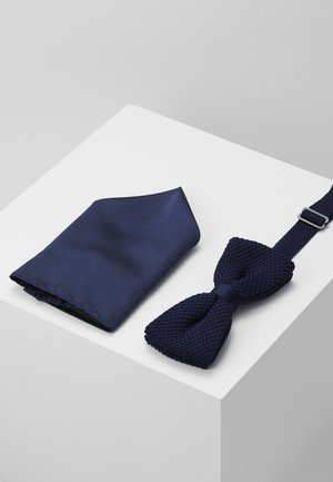 BUSTER SET - Pocket square - navy