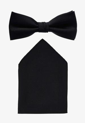 BUSTER SET - Kapesník do obleku - black